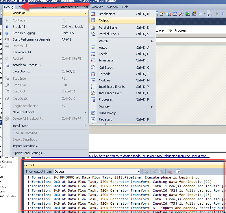 Error Log: How To Enable Detailed Logging And Export Log In SSIS