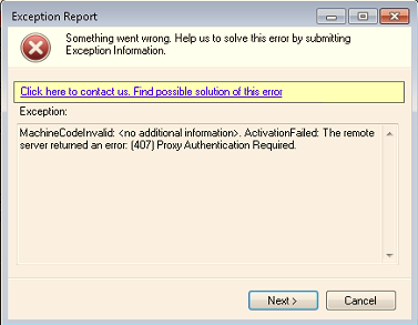 407 Proxy Authentication Required \u2013 ZappySys Help Center