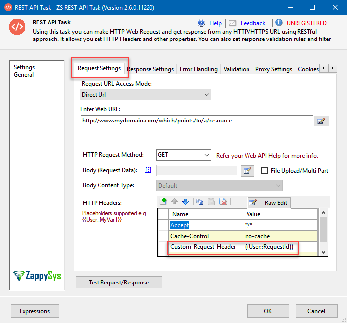 How to use HTTP response header in further requests