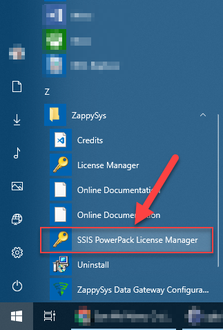 How to transfer SSIS PowerPack license from one machine to another