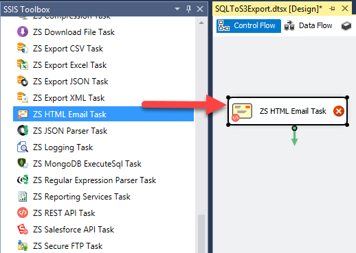 How to send HTML Email using Office 365 SMTP Service in SSIS